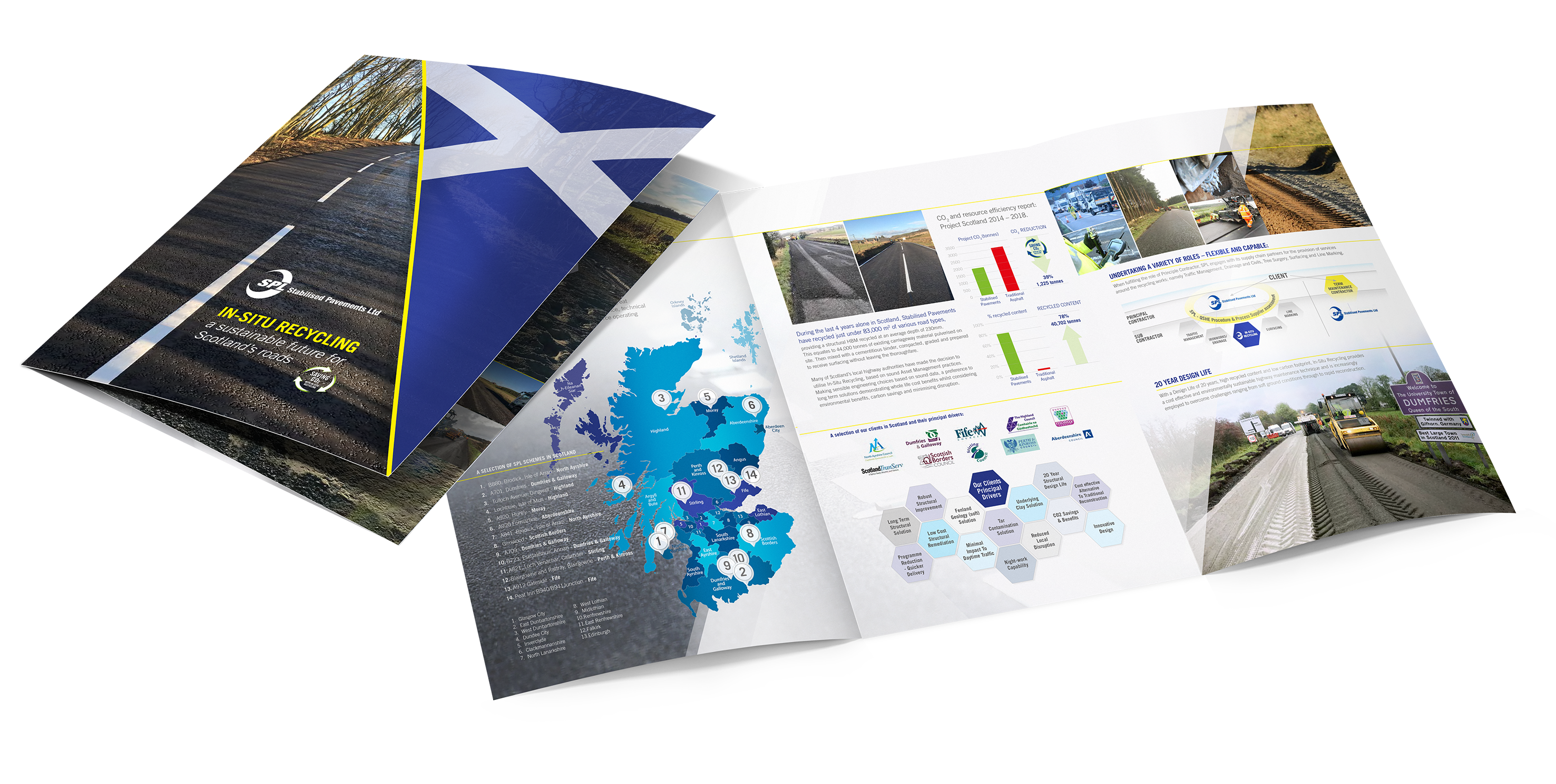 SPL In-Situ Recycling in Scotland Brochure